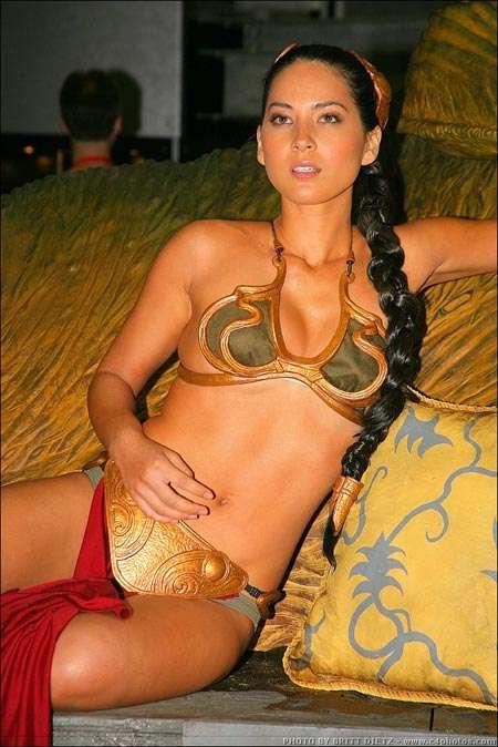 Gold Bikini