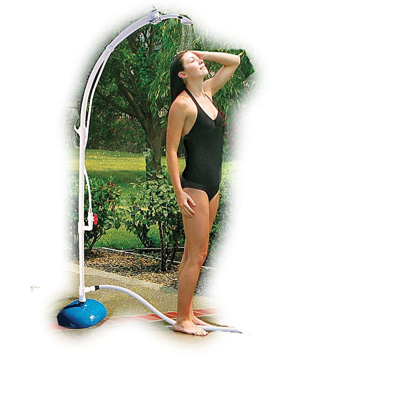Duchas portatiles para jardin perfect ducha de piscina - Duchas portatiles camping ...