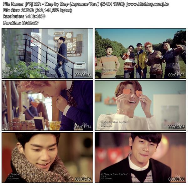 (PV) ZEA - Step by Step (Japanese Ver.) (M-ON HD 1080i)