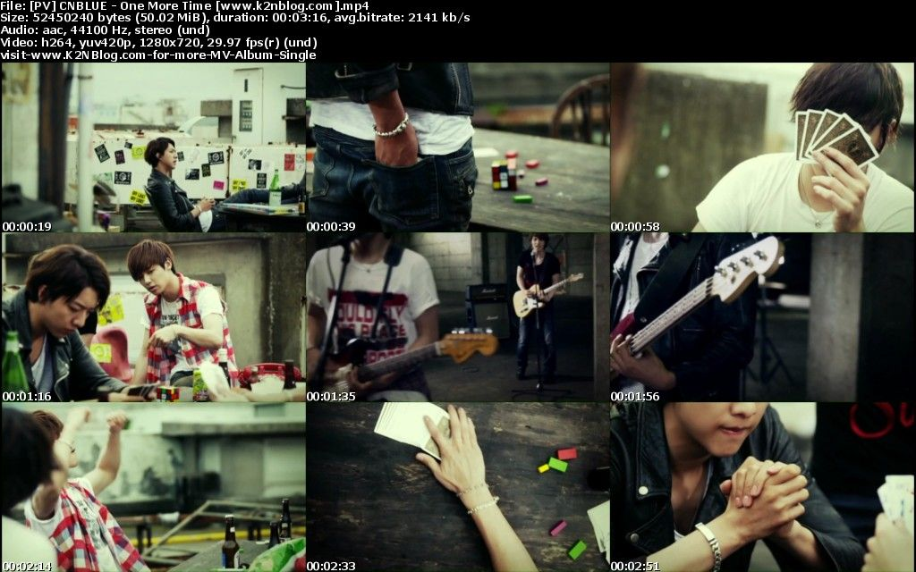 (PV) CNBLUE - One More Time (HD 720p Youtube)