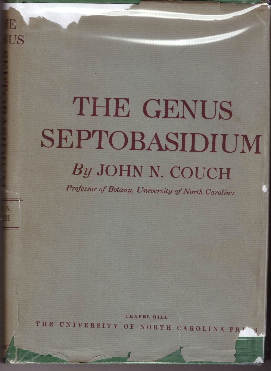 The genus Septobasidium, Couch, John Nathaniel