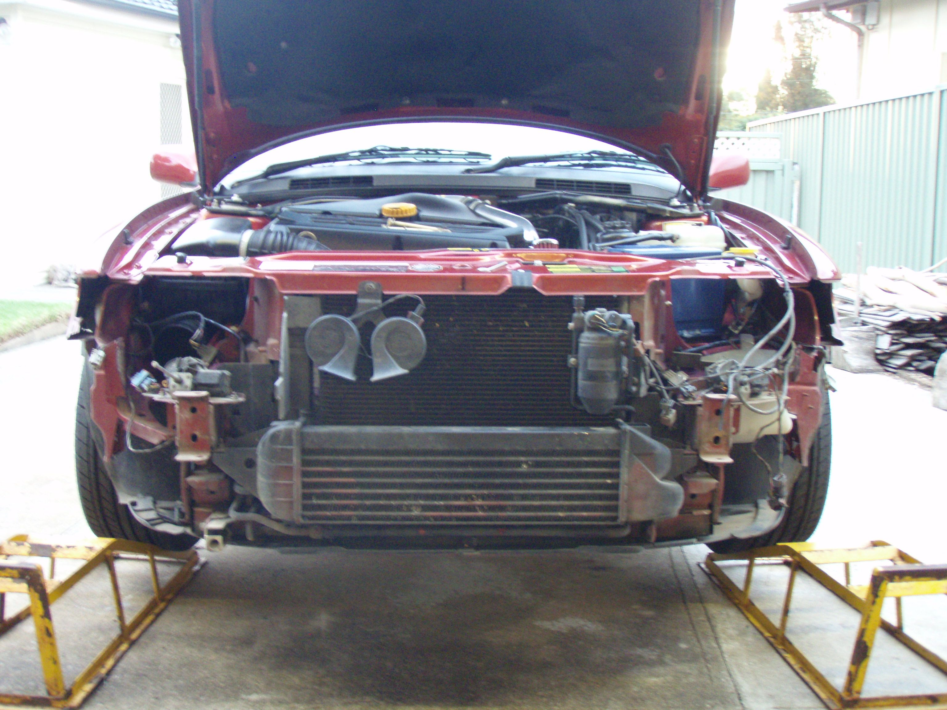 Universal intercooler install  SaabCentral Forums