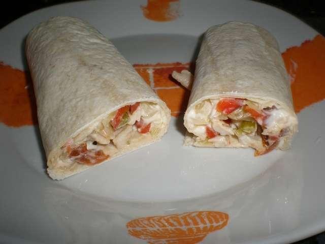 y9tyd - Fajitas de pollo y verdura