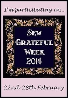 My Happy Sewing Place - Sew Grateful Week