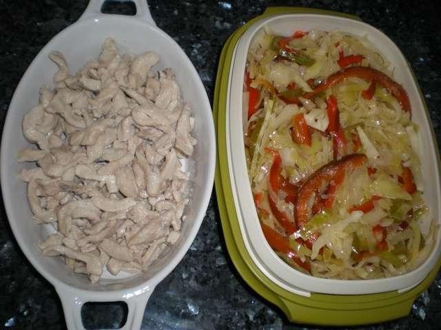 skp1k - Fajitas de pollo y verdura