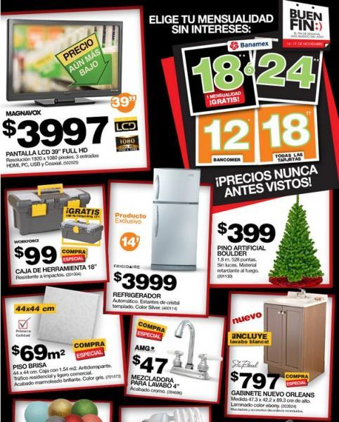 b340180ea6c41 Ofertas de Home Depot para El Buen Fin 2012