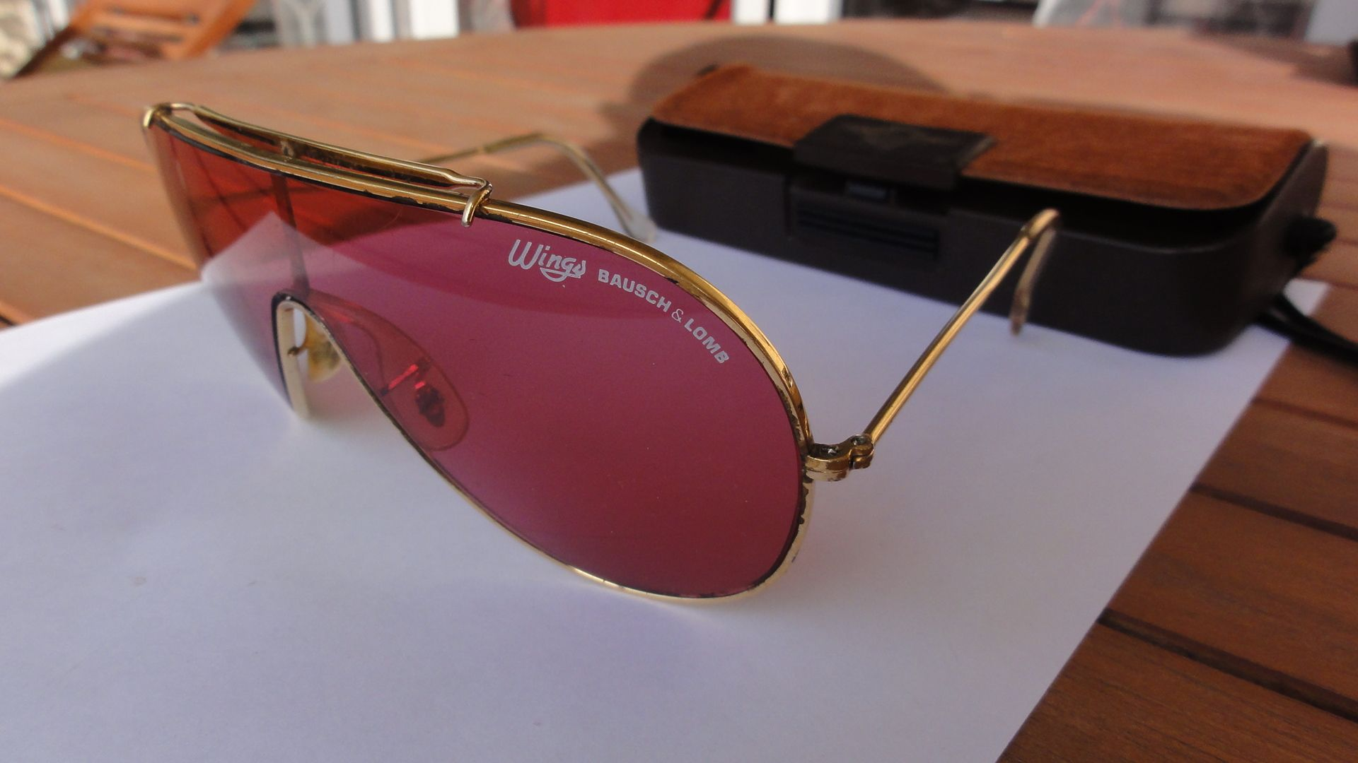 396c650e04 Vintage Bausch and Lomb ray-ban WINGS sunglasses