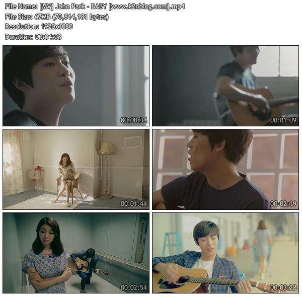 [MV] John Park - BABY [HD 1080p Youtube]